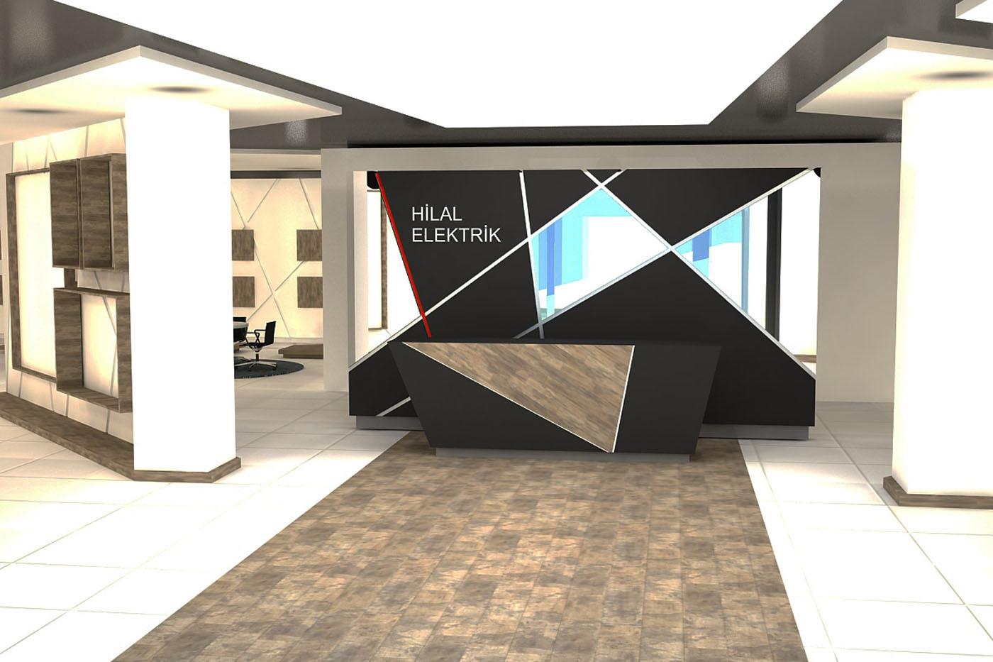 Design office ofis tasarim ve uygulamasi hilal elektrik for Design office y z
