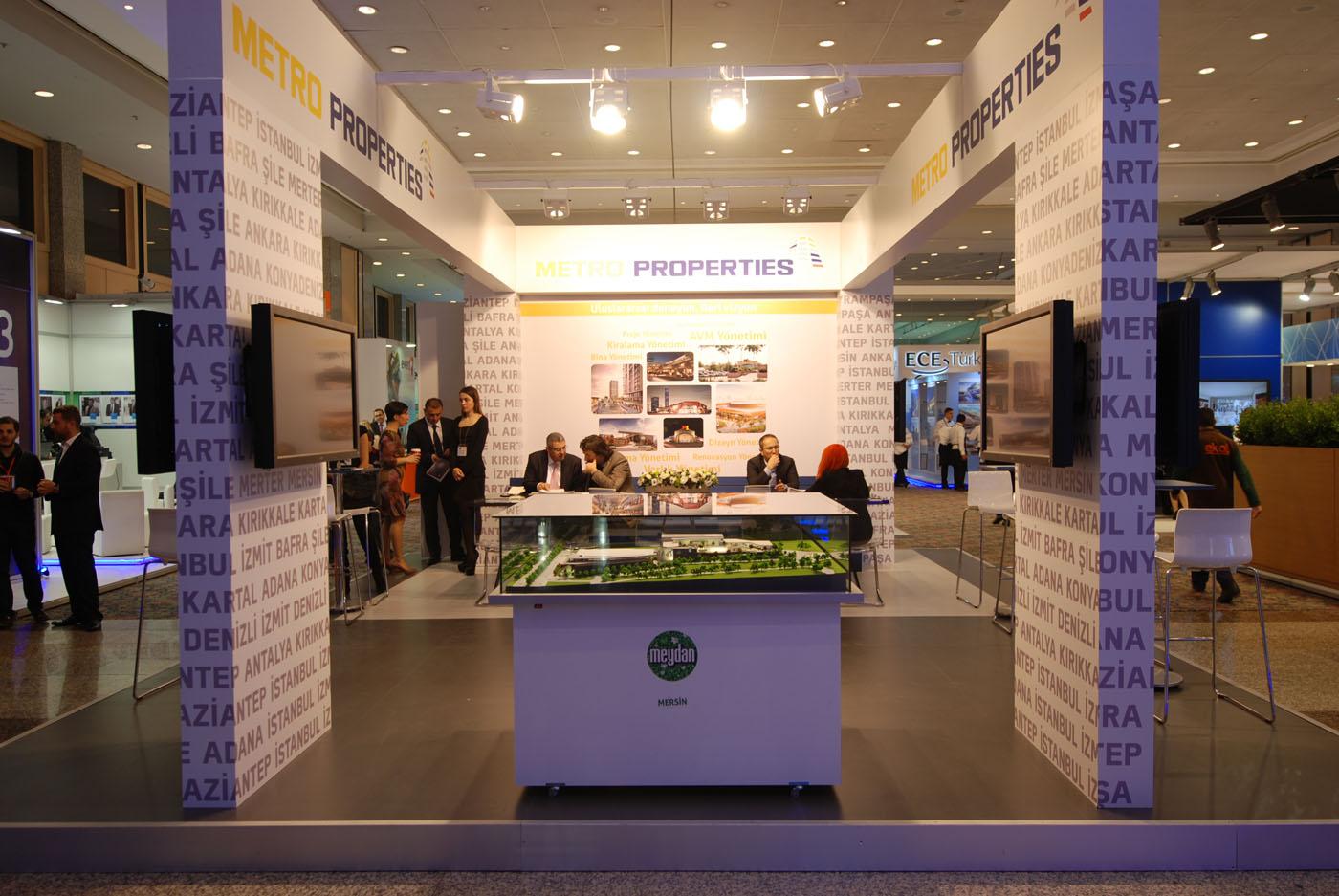 Design office fuar tasarimi metro properties perakende for Office design 2014